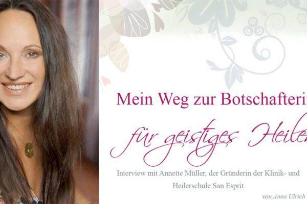Mein Weg zur Botschafterin für geistiges Heilen von Anna Ulrich